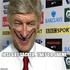 Mourinho Meme - jose mourinho sacked imgflip