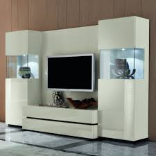 modern showcase designs for living room unique white wall unit