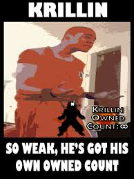 Krillin Meme - krillin meme tfs own count by badger4r on deviantart