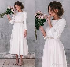 ankle length wedding dress wedding dresses wedding ideas and