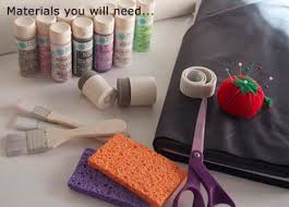diy fabric with martha stewart crafts multi surface acrylic paint