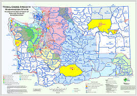 map usa indian reservations tribal co management treaty history and interpretation