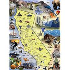 usa map jigsaw level five los angeles area map jigsaw puzzle 1000 map