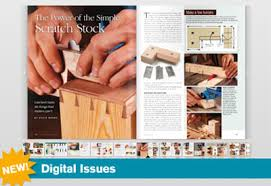 fine woodworking magazine goes digital finewoodworking