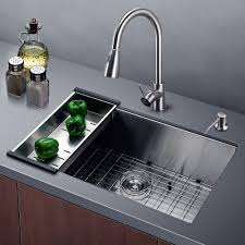Kraus Kitchen Sinks Stainless Steel Kitchen Sink Combination Kraususa Throughout