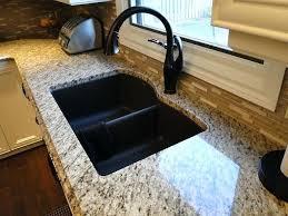 quartz kitchen sinks pros and cons white kitchen quartz undermount sinks pros and cons black granite