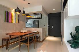 home interior lights home in singapore space savvy interior laced with industrial elements
