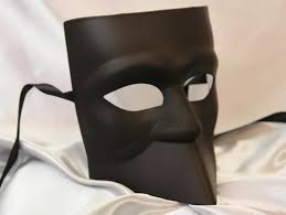 black bauta mask mens black white bauta mask masquerade mask studio