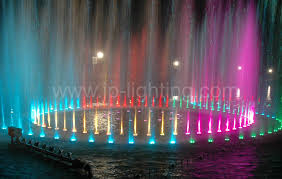 led fountain lights underwater ip68 27w rgb led fountain ring light jp 94194
