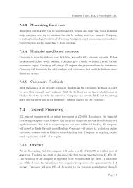 business plan example 19 u201ccompany a u201d limited u2013 business plan