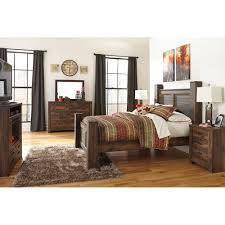 king poster bed 5 pc bedroom package quinden king poster bed 5 pc bedroom package