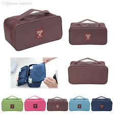 Underwear Organizer Wholesale Portable Protect Bra Underwear Lingerie Case Travel