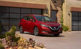 nissan leaf spy shots 2018 nissan leaf pictures photo gallery car and driver