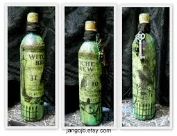 wine bottle halloween make the best of things water bottle turned halloween potion bottle