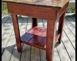 rustic kitchen island table kitchen island etsy