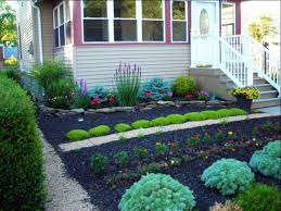 front yard landscaping without grass garden and patio minimalist