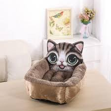 Cat Bed Pattern Aliexpress Com Buy Carrywon Dog House Cute Cartoon Pet Kennel 3d