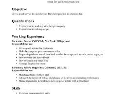 Download It Resume Skills Haadyaooverbayresort Com Bartender Resume Example Unforgettable Bartender Resume Examples
