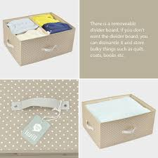 Clothes Storage Containers by Amazon Com Folding Ultra Size Clothes Storage Containers With Lid