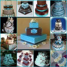 wedding cake exles nana s silver and blue wedding dresses wedding theme