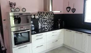 cuisine avec mur en modele de cuisine blanche cheap modles de cuisine design italien