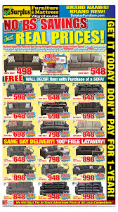 kitchener surplus furniture surplus furniture mattress warehouse kitchener flyer may 15 to 28