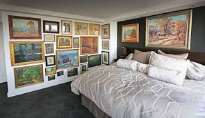 inspirational room decor master bedroom inspiration with wall of artwork idolza
