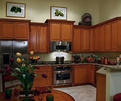 Maple Kitchen Cabinets In Medium Brown Finish Kitchen Craft - Medium brown kitchen cabinets