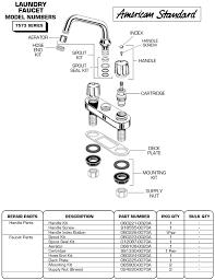 American Standard Kitchen Faucet Parts Diagram Plumbingwarehouse Com American Standard Bathroom Faucet Parts