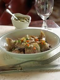 cuisiner tete de veau tête de veau sauce ravigote recettes cuisine française