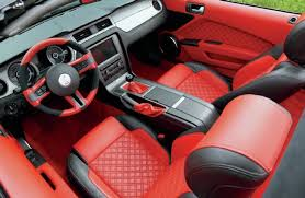 Mustang Interior 2014 2014 Ford Mustang Widebody G T 500 Convertible Ice Cool