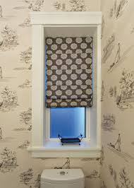 powder room window treatments