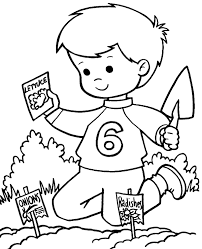 spring coloring pages 6 print download free