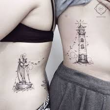 beauty and the beast couple tattoo ideas best beauty 2017