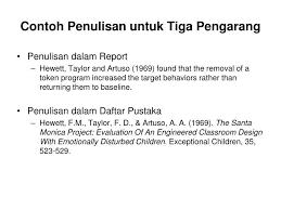 penulisan daftar pustaka nama tiga suku kata ppt research methodology penulisan daftar pustaka powerpoint