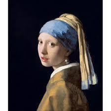 vermeer earring 4 vintage posters johannes vermeer girl with a pearl earring