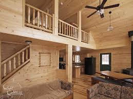 log homes interior mountaineer deluxe cozy cabins llc