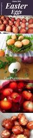 Decorating Easter Eggs With Onion Skins by Easter Eggs Naturally Dyed With Onion Skins Recipe Homemade