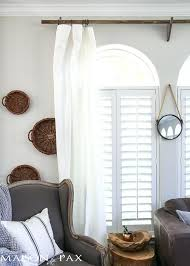 Curtain Hanging Hardware Decorating Hanging Curtains Alpals Info
