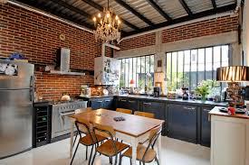 cuisine dans loft maison loft transformation d une usine en loft industrial