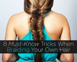 how to i french plait my own side hair 8 must know tricks when braiding your own hair