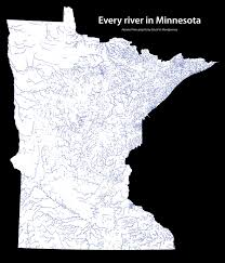 Map Of Rivers Minnesota Lakes Map Plus 9 More About Minnesota U0027s Waters