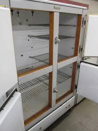 frigidaire glass door fridge unrestored antique refrigerators