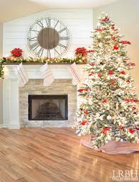 Christmas Tree Ideas 2015 Red 2015 Christmas Home Tour Part One Little Red Brick House