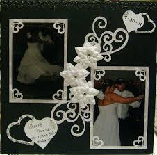 wedding scrapbook ideas wedding scrapbook layouts borders cards diy album