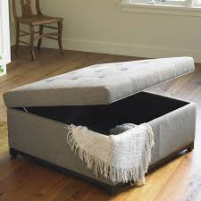 Fabric Ottoman Storage Best 25 Square Ottoman Ideas On Pinterest Fabric Coffee Table In