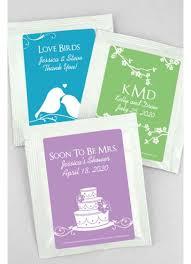 wedding tea db exclusive personalized wedding tea favors david s bridal