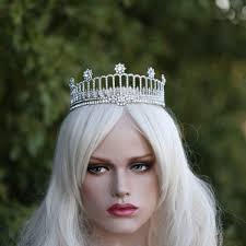 bridal crowns calista royal wedding tiara swarovski replica bridal