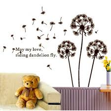 wall removable wall stickers dandelion wall decal lowes wall dandelion wall decal wall word decals michaels wall decals