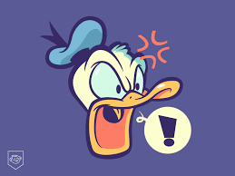 tags donald duck dribbble